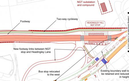 NGT plans for arndale centre bypass